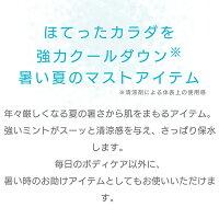 アイスミントミスト 100mL[日本製]ボディスプレー ボディミスト ボディケア 化粧品 オートミール ハッカ 限定 ギフト プレゼント ひんやり 冷たい フローズン スチームクリーム|STEAMCREAM 公式