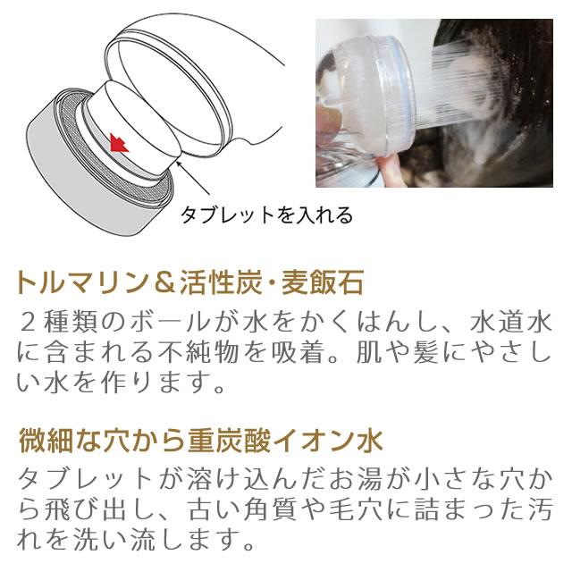 アートクライムスパプラス(家庭用シャワー水栓専用)※タブレット収納設計