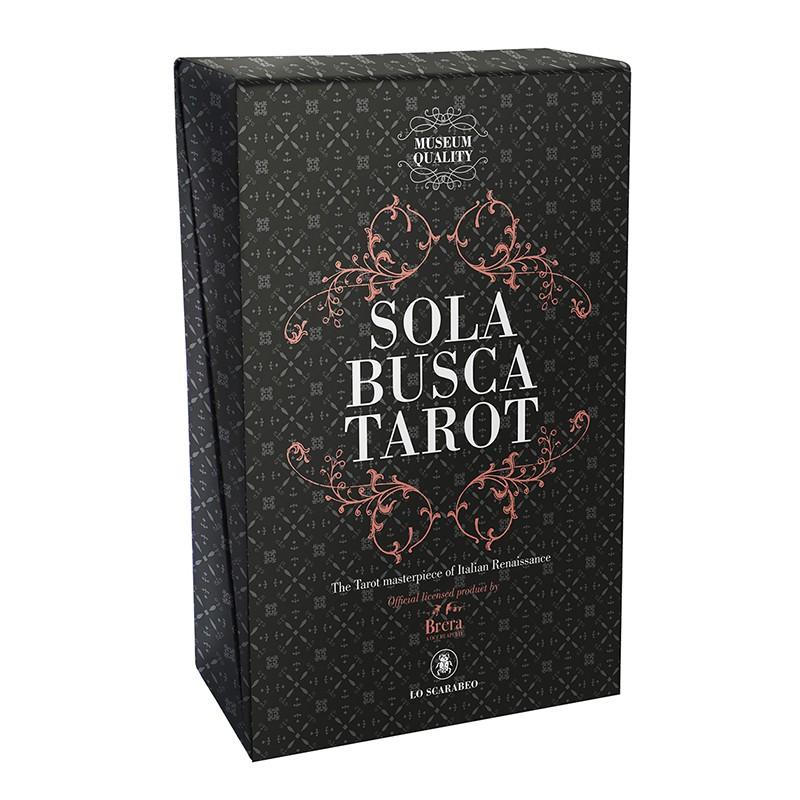Sola Busca Tarot: Museum Quality Kit/ソラ・ブスカ・タロット・ミュージアム・エディション画像