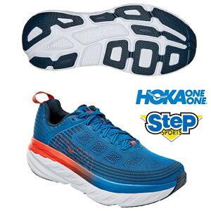 あす楽 ホカ オネオネ ランニング シューズ ボンダイ 6 1019269-IBMB ブルー(BLUE) HOKA ONE ONE BONDI 6 メンズ ジョギング スニーカー 運動靴 くつ 厚底 青 20SS cat-run