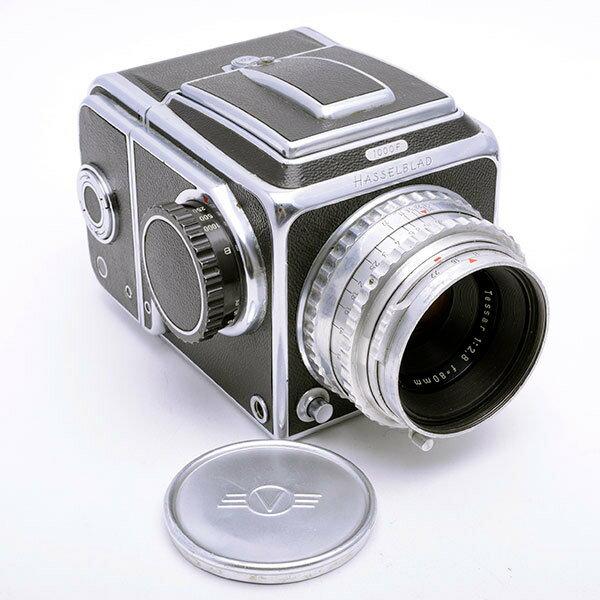 フィルムカメラ, 中判・大判カメラ Hasselblad 1000F Tessar 80mm F2.8 TAB