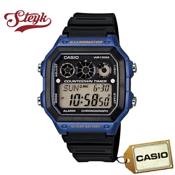 CASIO カシオ 腕時計 チープカシオ デジタル AE-1300WH-2A メンズ【メール便選択で送料200円】