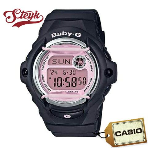 CASIO BG-169M-1 カシオ 腕時計 デジタル ベビーG BABY-G レディース ブラック ピンク カジュアル