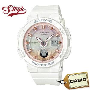 CASIO BGA-250-7A2 カシオ 腕時計 アナデジ BABY-G ベビーG レディース ホワイト ピンク カジュアル