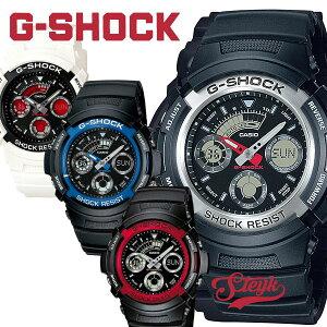 【10日23:59まで!店内ポイント最大46倍】G-SHOCK メンズ レディース ブラック レッド ブルー アナデジ アナログ 腕時計 カシオ Gショック