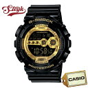 【店内ポイント最大44倍&クーポン配布中】CASIO カシオ 腕時計 G-SHOCK Gショック デジタル GD-100GB-1