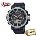 CASIO PRG-600-1 カシオ 腕時計 アナデジ PRO TREK ソーラー メンズ ブラック シルバー カジュアル