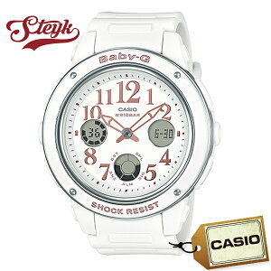 CASIO BGA-150EF-7B カシオ 腕時計 アナデジ Baby-G ベビーG レディース ホワイト カジュアル