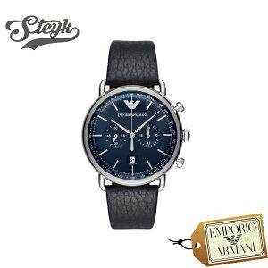 Emporio Armani エンポリオアルマーニ 腕時計 AVIATOR アビエーター アナログ AR11105 メンズ
