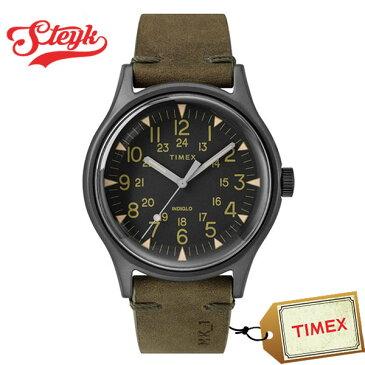 【5日23:59まで!店内ポイント最大42倍】TIMEX TW2R97000 タイメックス 腕時計 アナログ MK1 メンズ ブラック ブラウン ガンメタル カジュアル