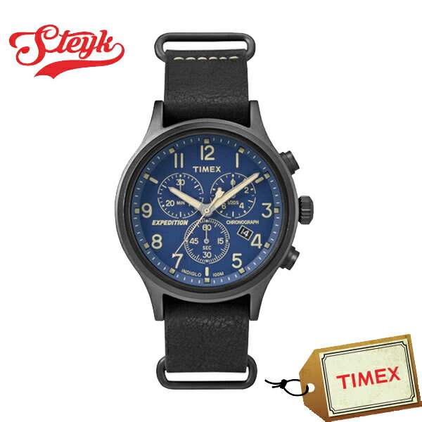 【あす楽対応】TIMEX タイメックス 腕時計 EXPEDITION SCOUT CHRONO エクスペディション スカウト クロノ アナログ TW4B04200 メンズ【】