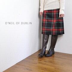 【送料無料】O'NEIL OF DUBLIN オニール オブ ダブリンタータンチェック キルトスカート5059-B ...