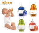 赤ちゃんの好奇心をくすぐり、衛生面にも気を配ったフィーディングボトルです。【mOmma/マンマ...