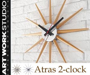 Atras 2-clock (アトラス2クロック)/ウォールクロック/...