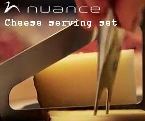 【nuance/ニュアンス】ニュアンス チーズセット3P/マルチフォーク/バターナイフ/チーズナイフ/ハードチーズ/ソフトチーズ/チーズカッター