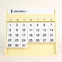【Mid-Century MODERN】 特注 Always Calendar【オールウェイズ カレンダー 万年 プラスチック ...
