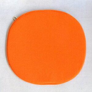 【Mid-Century MODERN】 オリジナルシートパッド NC-039 オレンジ 【イームズ シェルチェア セブンチェア アントチェア等にオススメ】