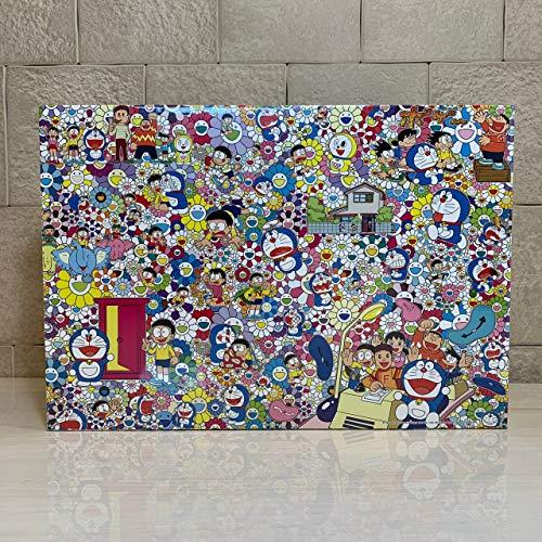 パズル, ジグソーパズル 2017 1000pcs size 73.5cm51cm TAKASHI MURAKAMI FOR THE DORAEMON EXHIBITION TOKYO2017