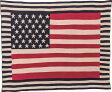 【東谷 AZUMAYA】シートブランケット USA アメリカ 星条旗 国旗 TTZ-205 おしゃれ/かわいい【東谷商品以外と同梱不可】