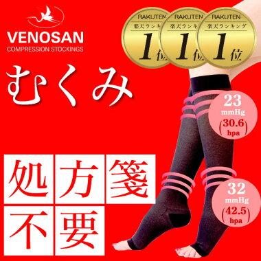 【足のだるさ】を解放。医療用弾性ストッキングベノサン5000。医療機器届出番号13B3X1094000001
