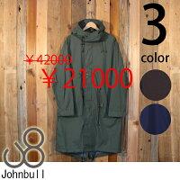 ジョンブルJohnbull2.5レイヤーナイロンレインコートM-51パーカー16520