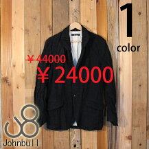 ジョンブルJohnbullイベリコウールクラシックジャケットテーラードワーク12525