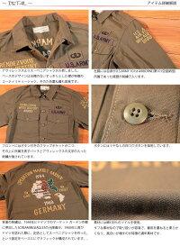 アヴィレックスAVIREX刺繍ミリタリースーベニアシャツジャケットスクリーミングイーグルス6175147