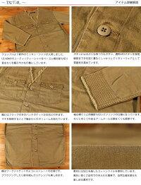 ジョンブルJohnbullレディースミリタリービックシャツジャケットノーカラーAS931