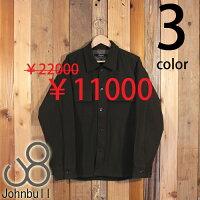 ジョンブルJohnbullサーモライトCPOシャツジャケットビッグシルエットストレッチミリタリー12590