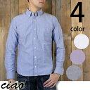 チャオciaoオックスフォードボタンダウンシャツ292003