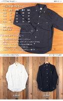 バーンズBarns日本製オックスフォードボタンダウンシャツ長袖BR-4965N