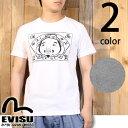 エヴィスジーンズ EVISU プリント 半袖 Tシャツ ETC-0659KV