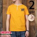 チェスウィックCHESWICK半袖ヘンリーネックTシャツ『STJOHN』CH77656