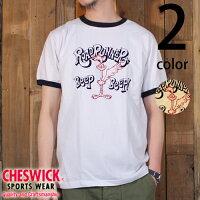 チェスウィックCHESWICKロードランナー半袖リンガーTシャツ『BEEPBEEP』CH77055