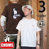 チャムスCHUMSブービーロゴ半袖TシャツCH01-1326
