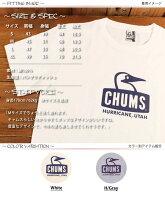 チャムスCHUMSブービーフェイスロゴ半袖TシャツCH01-1243
