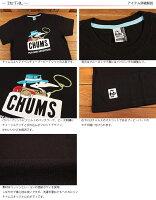 チャムスCHUMSアドベンチャーブービー半袖TシャツCH01-1212