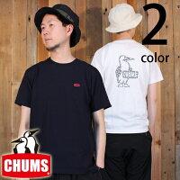 チャムスCHUMSカクタスブービー半袖TシャツCH01-1314