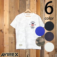 アヴィレックスAVIREX半袖ヴァーシティTシャツ6163363