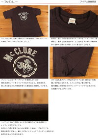 ウエアハウスWAREHOUSE半袖フロッキーTシャツMcCLURE4601