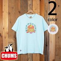 チャムスCHUMSホットケーキブービーバード半袖TシャツCH01-1656
