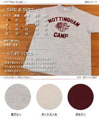 ウエアハウスWAREHOUSE半袖TシャツCAMPフロッキープリント4601
