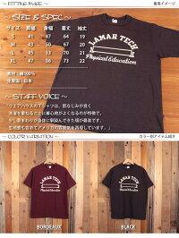 ウエアハウスWAREHOUSE半袖TシャツLAMARTECHフロッキープリント4601