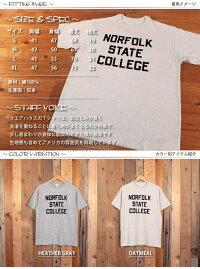 ウエアハウスWAREHOUSE半袖TシャツNORFOLKフロッキープリント4601