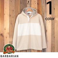 バーバリアンBARBARIANStockmanMarket別注モデルラガーシャツパーカーフードリアン2018modelST-1801