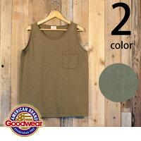 グッドウェアGoodwear日本正規品ポケットタンクトップ