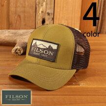 フィルソンFILSONロガーメッシュキャップラギットツイルベースボールトラッカー30237