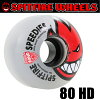 スケボーソフトウィールSPITFIRE80HDソフトウィールBIGHEADクリア54mmスピットファイアスケートボードウィール