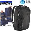 ●12月24日までポイント5倍●PATAGONIA パタゴニア リュック バッグ TRES PACK 25L ブラック トレスパック BLACK バックパック・リュックサック【s1】
