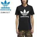 おまけ付き●アディダス スケートボーディング アディダス tシャツ 黒/CLIMA 3.0 TEE (CW2349) 速乾ドライadidas skateboarding adidas tシャツ【C1】【s3】